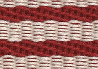 Stripes Thick Red Border 6204 Swatch thumb