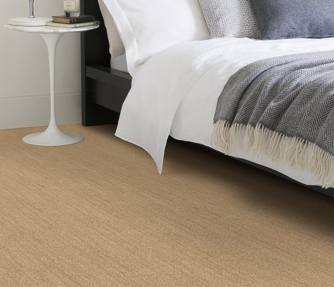 No Bother Sisal Bouclé Neatham Carpet 1400 in Bedroom