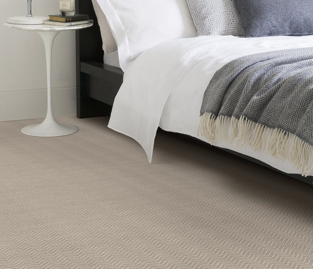Wool Iconic Chevron Forth Carpet 1536 in Bedroom