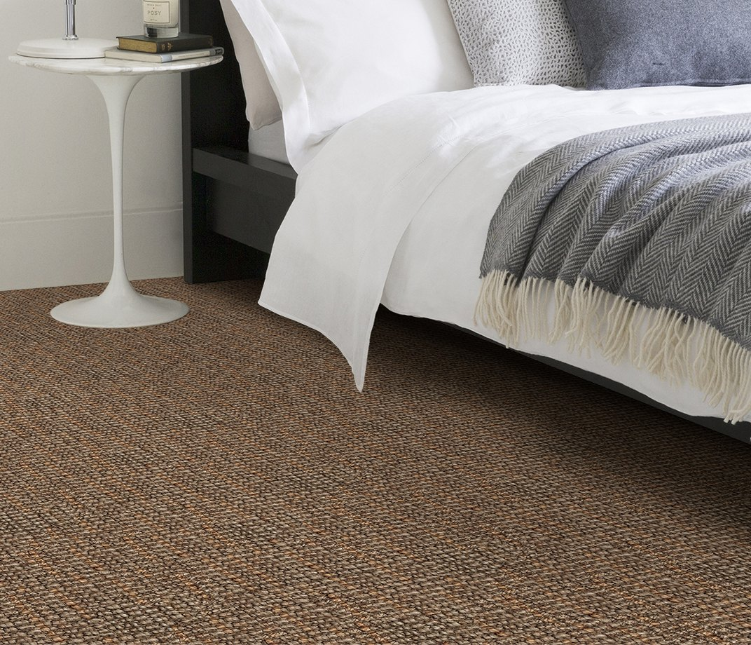 Jute Big Bouclé Toast Carpet 1620 in Bedroom