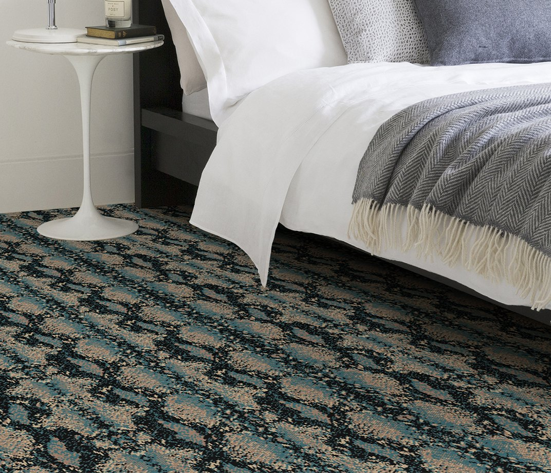 Quirky B Snake Mamba Carpet 7127 in Bedroom