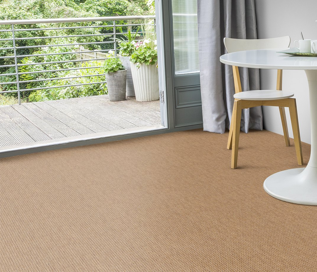 Anywhere Rope Natural Carpet 8060 in Living Room