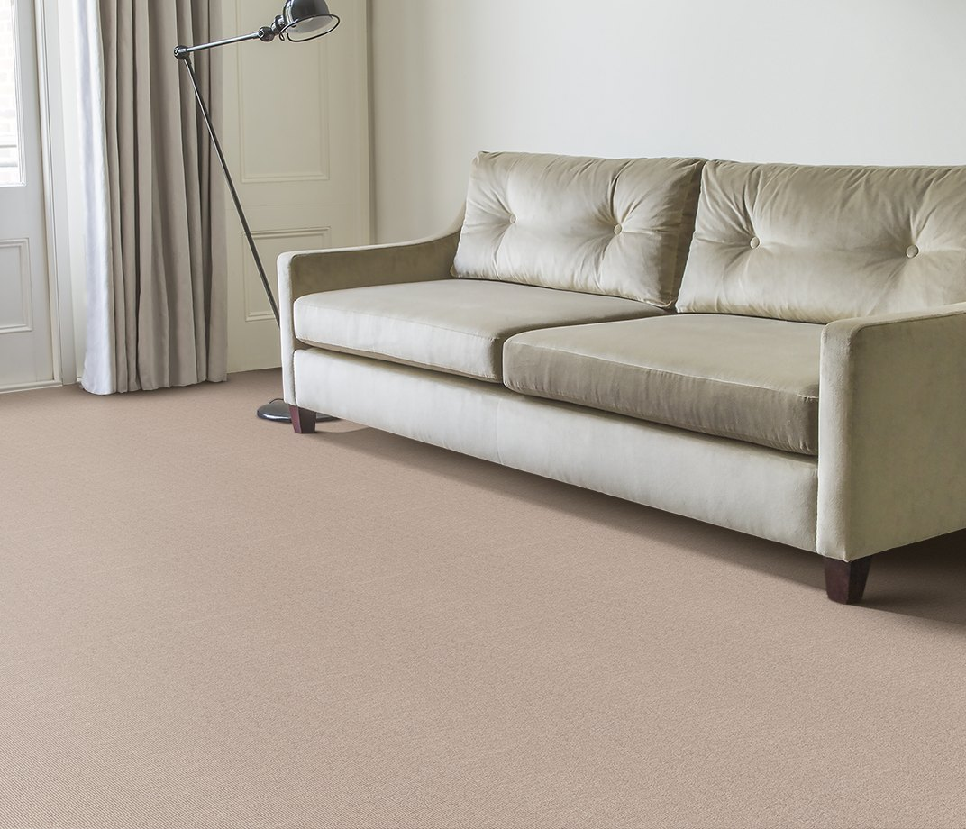 Wool Cord Olive Carpet 5787 in Living Room