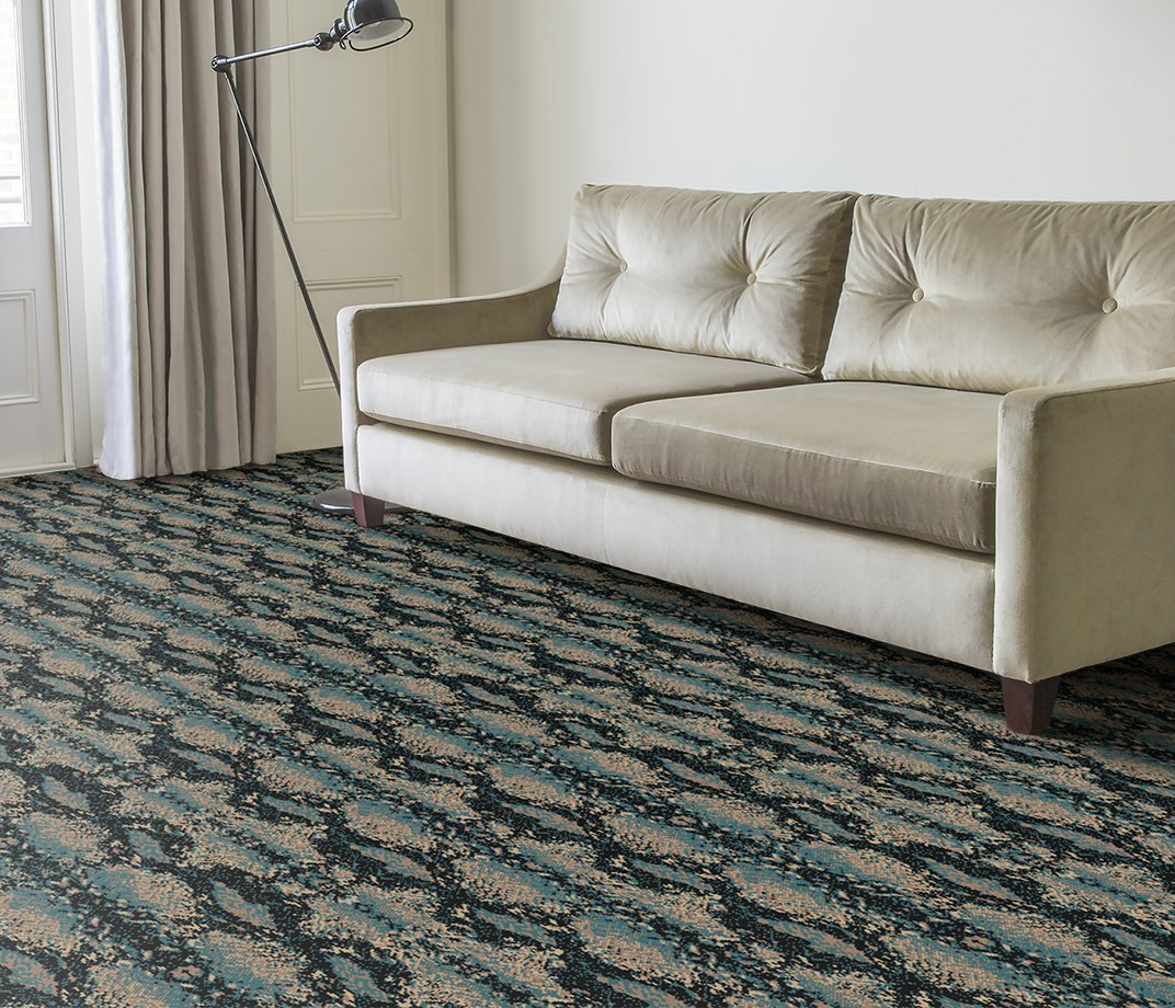 Quirky B Snake Mamba Carpet 7127 in Living Room