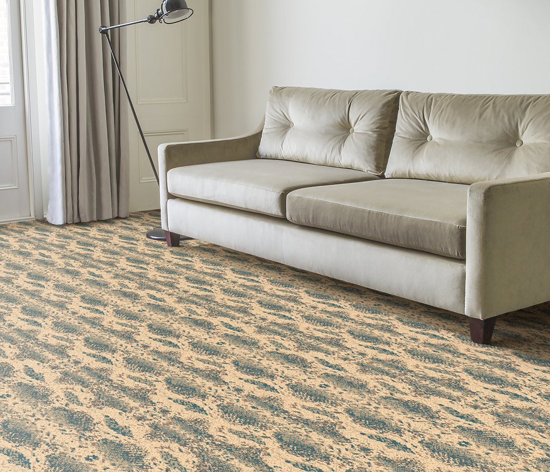 Quirky B Snake Boa Carpet 7129 in Living Room