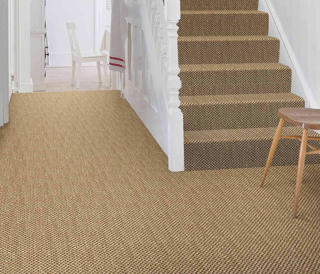 Sisal Malay Chen Carpet 2537 on Stairs