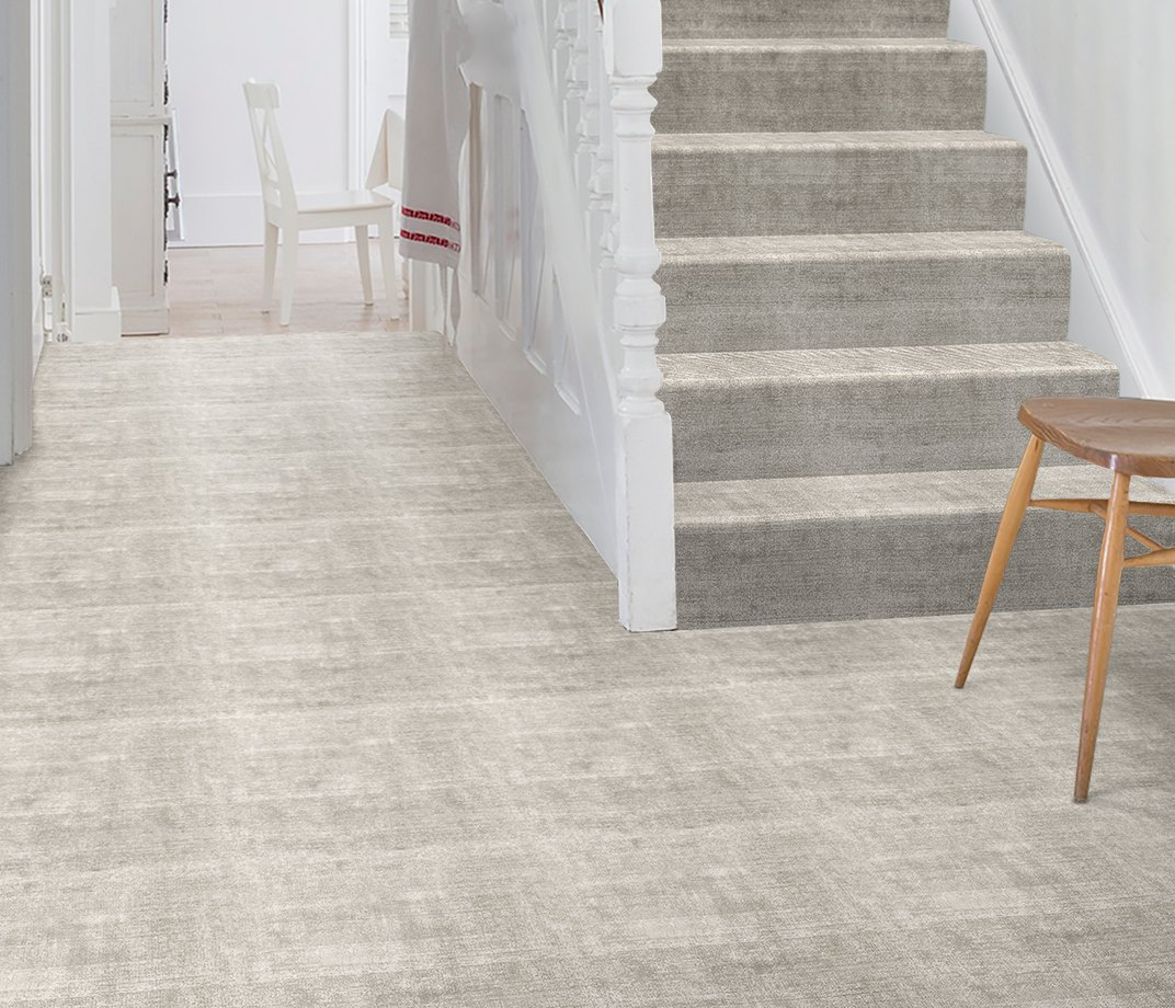 Luxx Sheer Narwhal Carpet 8080 on Stairs