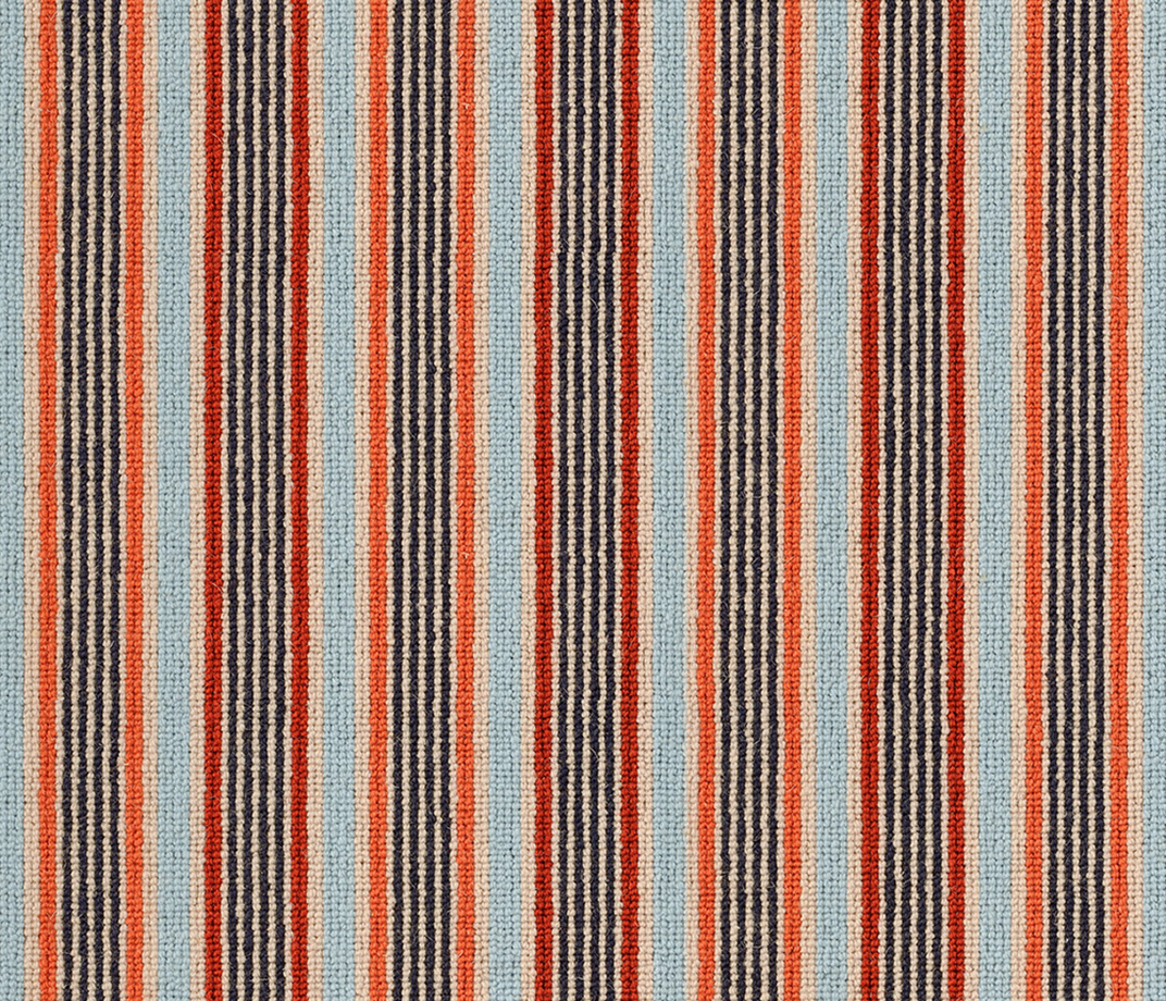 Margo Selby Stripe Frolic Pegwell Carpet 1922 Swatch