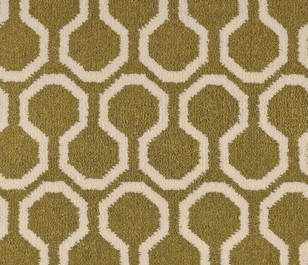 Quirky B Honeycomb Moss Carpet 7112 Swatch