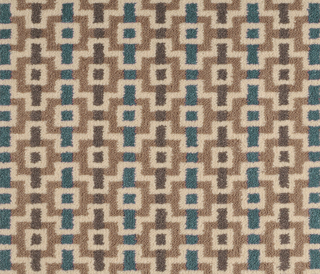 Quirky B Margo Selby Shuttle Jack Carpet 7200 Swatch