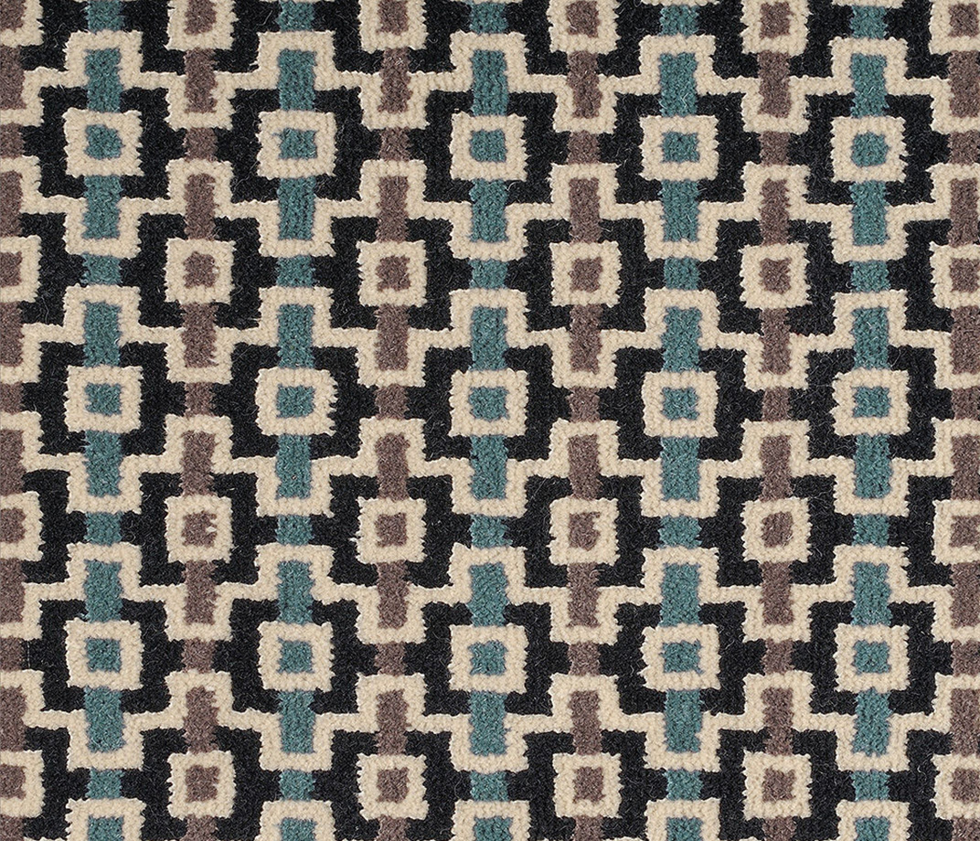 Quirky B Margo Selby Shuttle Silas Carpet 7201 Swatch