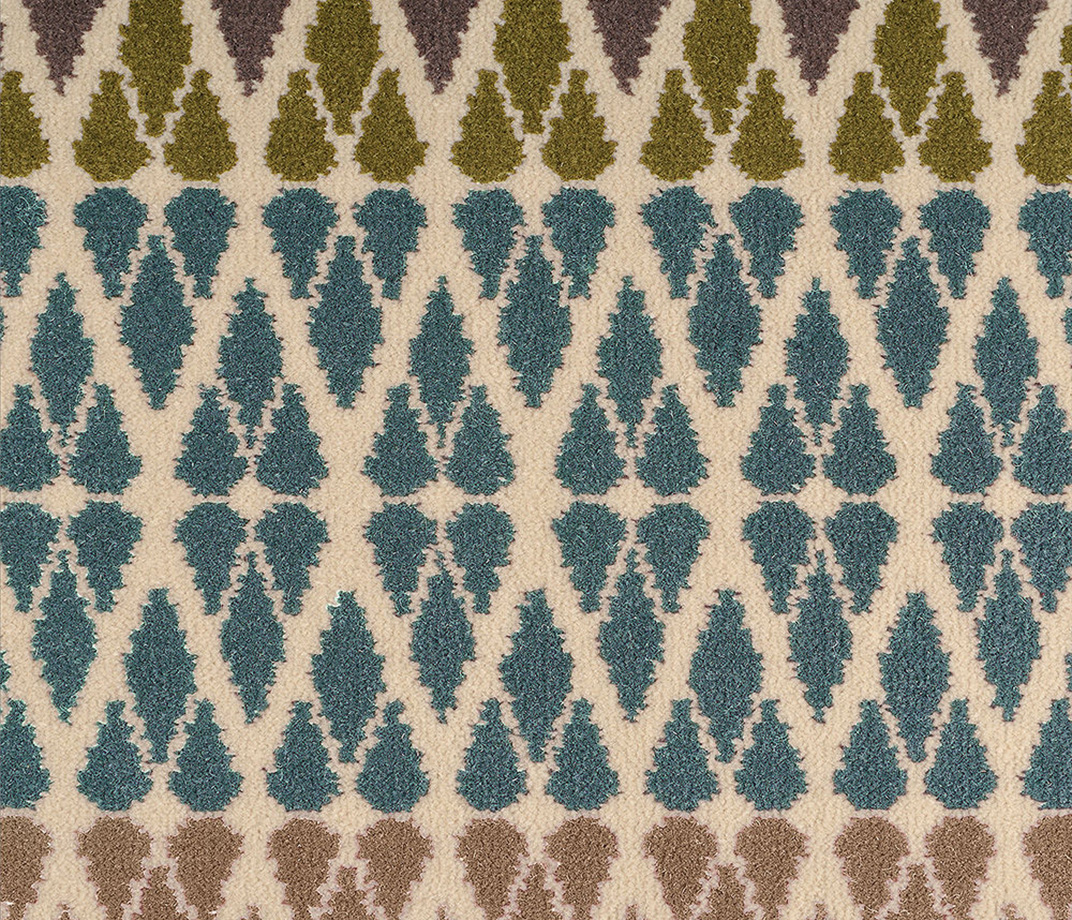Quirky B Margo Selby Fair Isle Annie Carpet 7210 Swatch