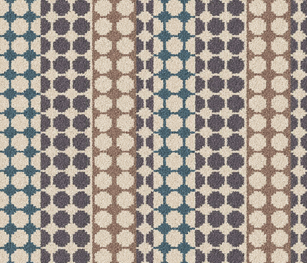 Quirky B Margo Selby Button Grey Carpet 7214 Swatch