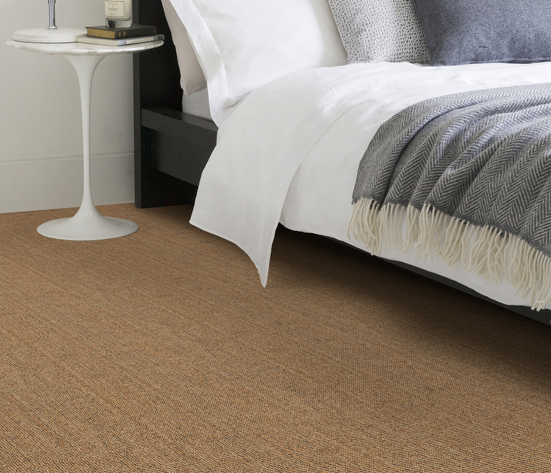 No Bother Sisal Bouclé Netley Carpet 1401 in Bedroom thumb