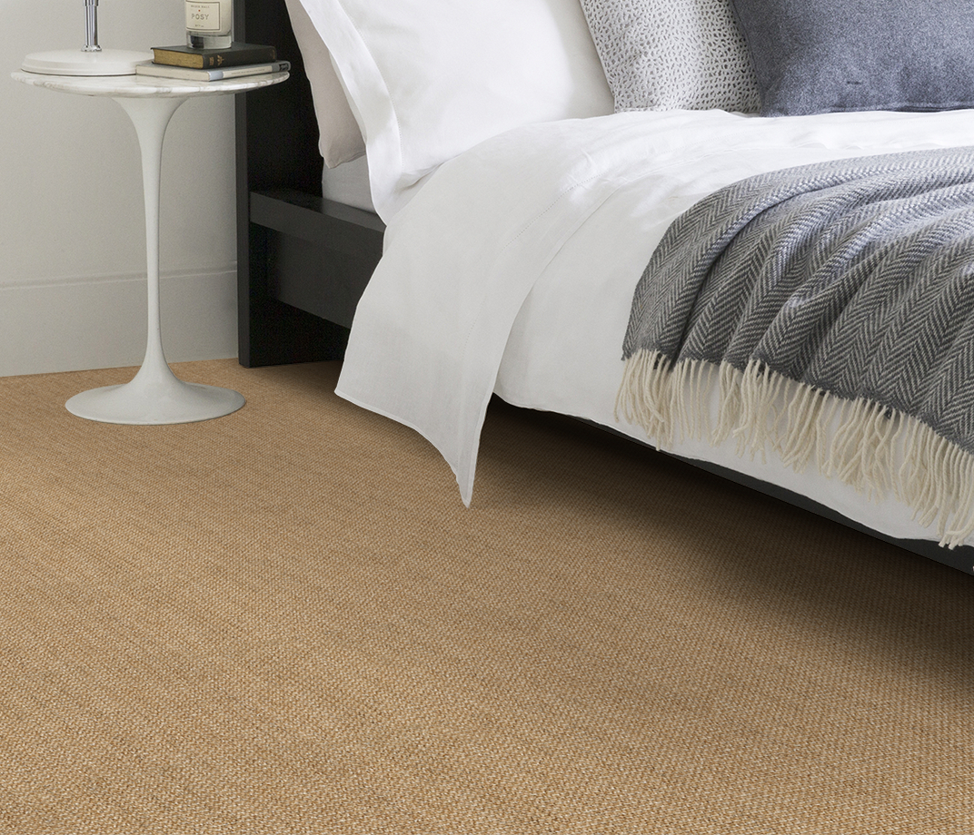 No Bother Sisal Super Bouclé Netherton Carpet 1450 in Bedroom thumb