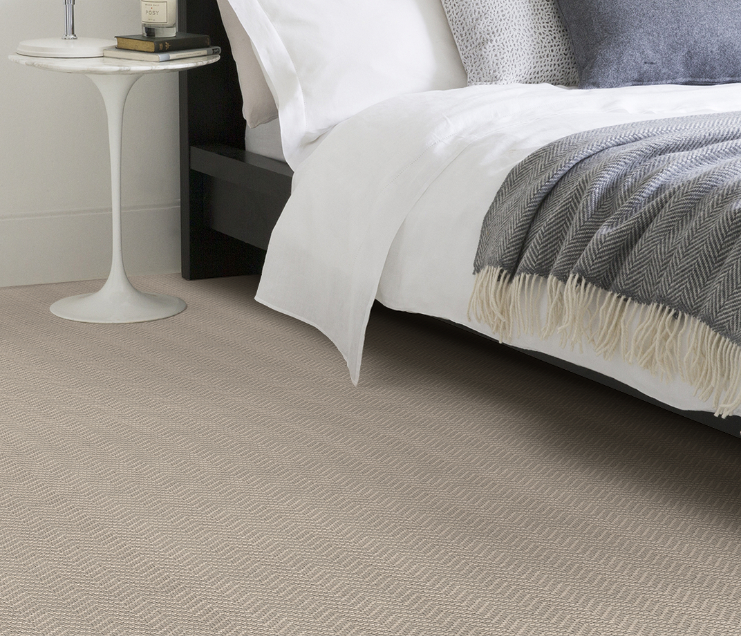 Wool Iconic Chevron Forth Carpet 1536 in Bedroom thumb