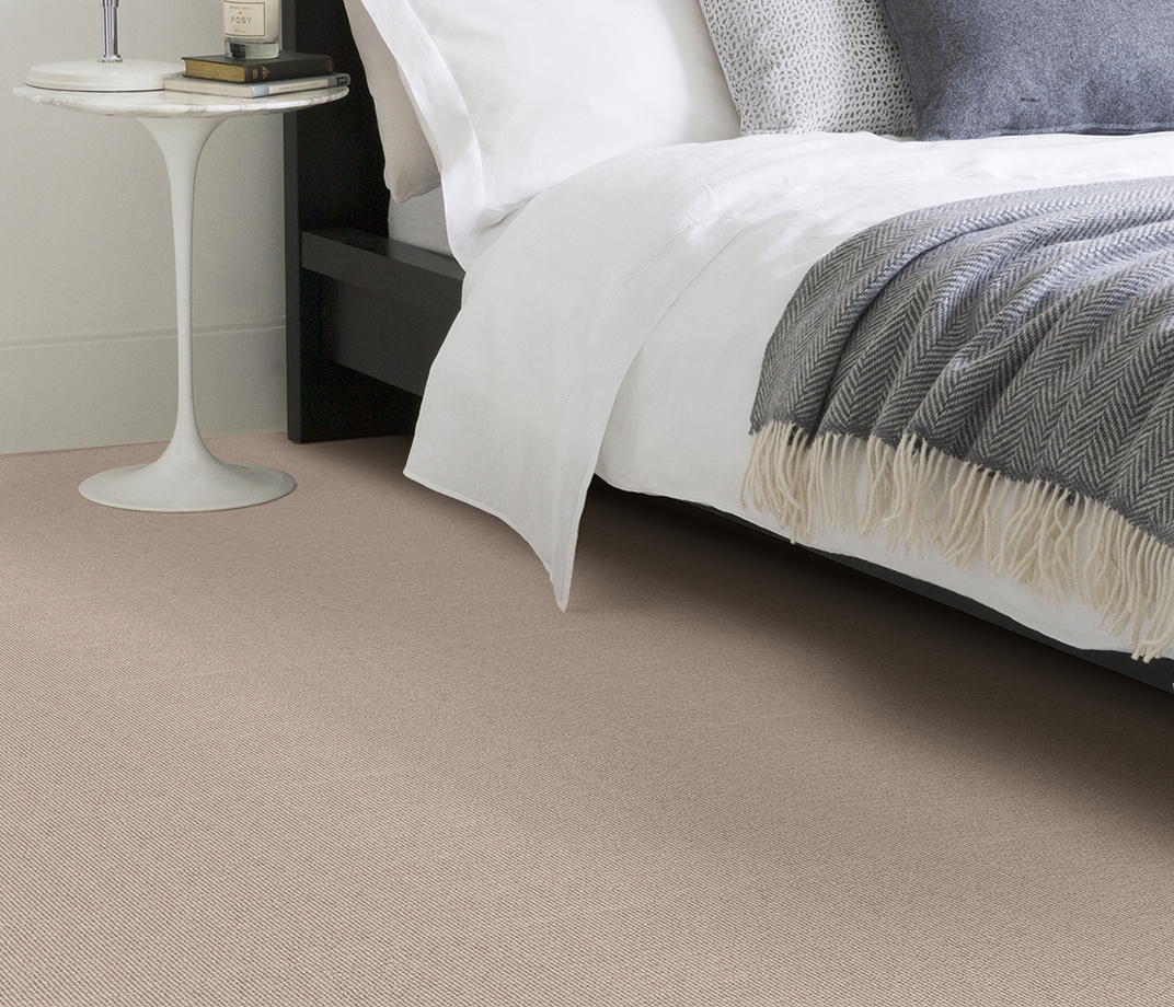 Wool Cord Olive Carpet 5787 in Bedroom thumb