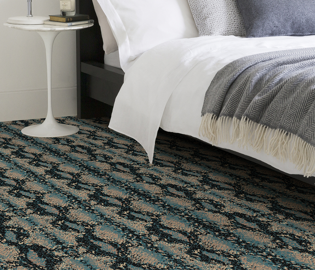 Quirky B Snake Mamba Carpet 7127 in Bedroom thumb