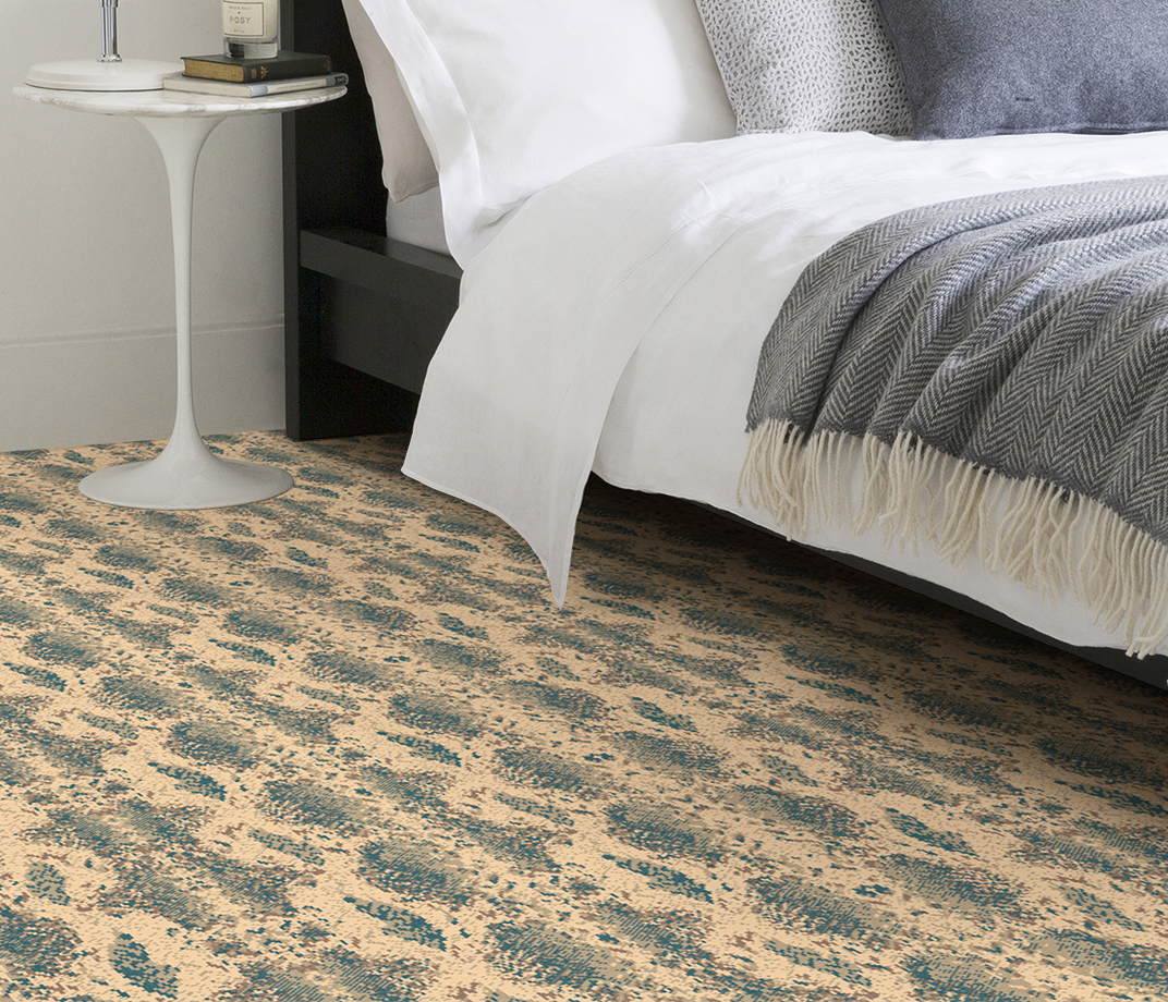 Quirky B Snake Boa Carpet 7129 in Bedroom thumb