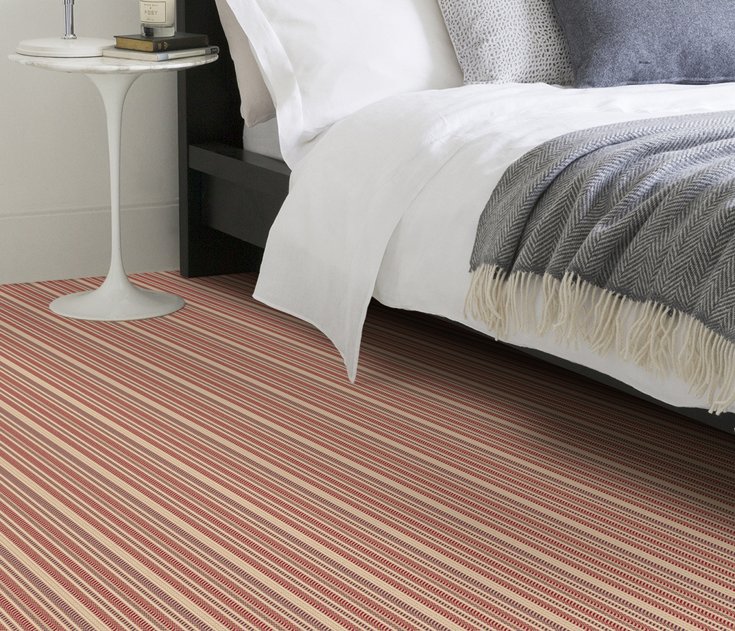 Quirky B Hot Herring Ruby Carpet 7138 in Bedroom thumb