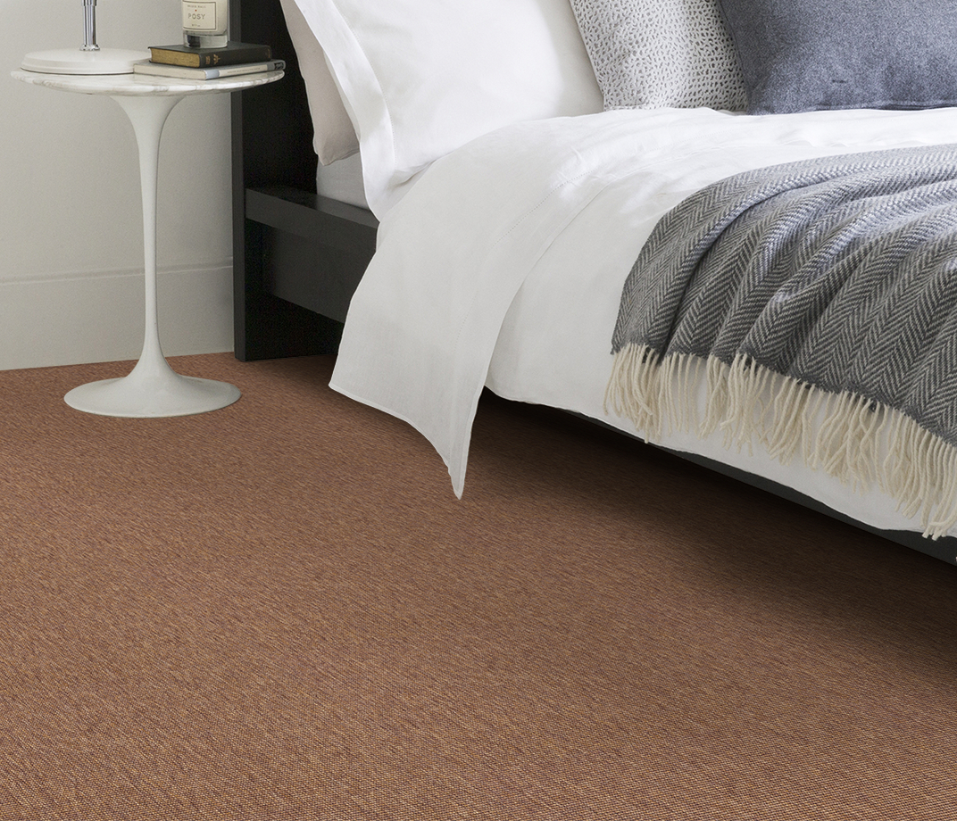 Anywhere Bouclé Copper Carpet 8001 in Bedroom thumb
