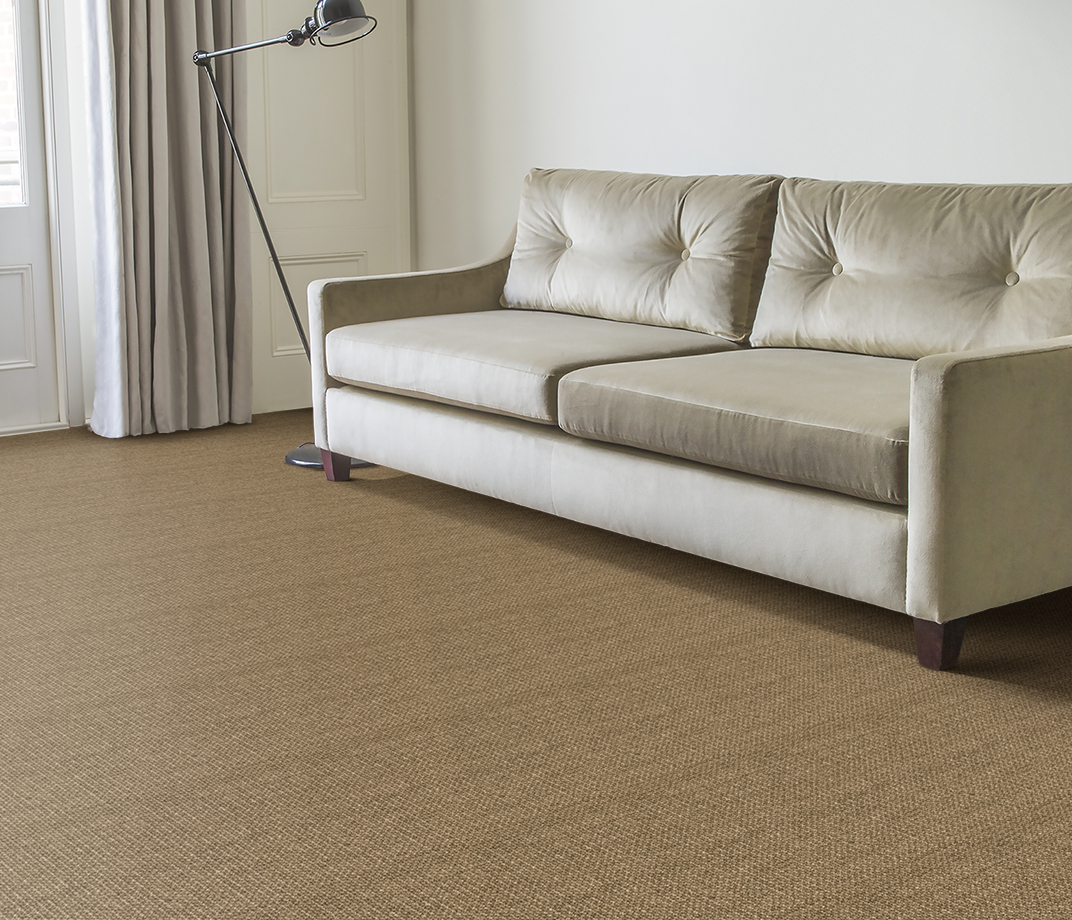 No Bother Sisal Bouclé Norleywood Carpet 1403 in Living Room thumb