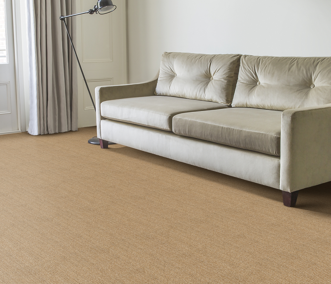No Bother Sisal Super Bouclé Netherton Carpet 1450 in Living Room thumb