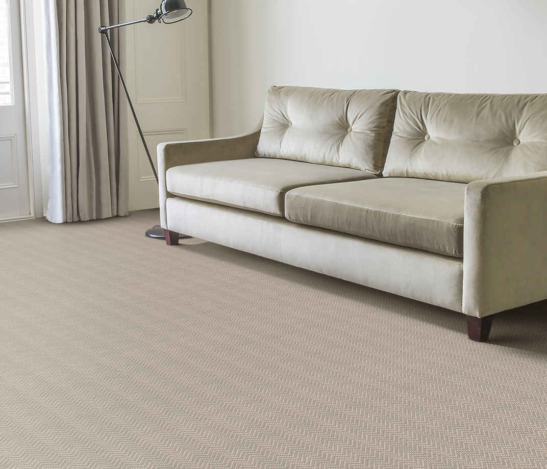 Wool Iconic Chevron Forth Carpet 1536 in Living Room thumb