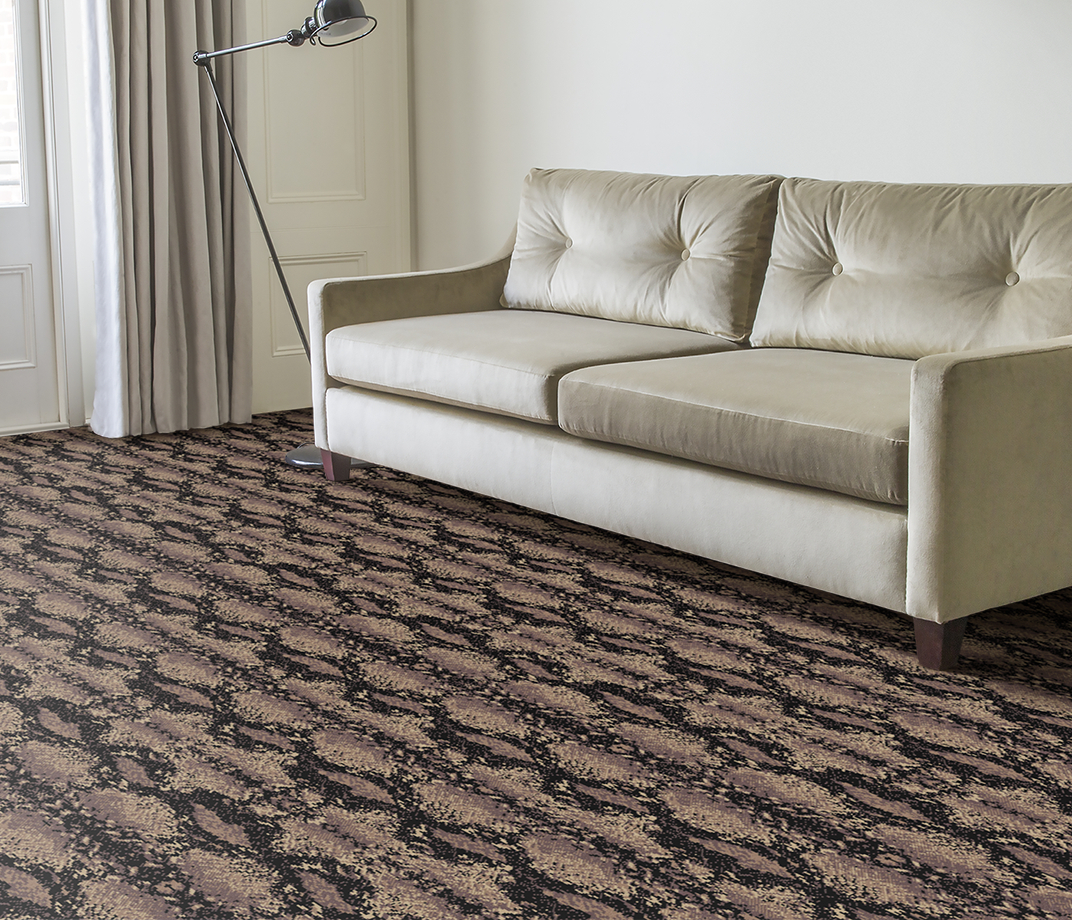 Quirky B Snake Python Carpet 7128 in Living Room thumb