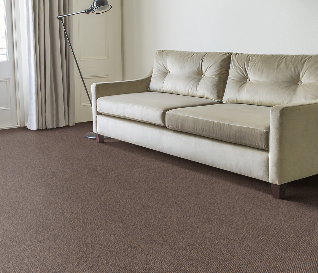 Anywhere Bouclé Cocoa Carpet 8002 in Living Room thumb