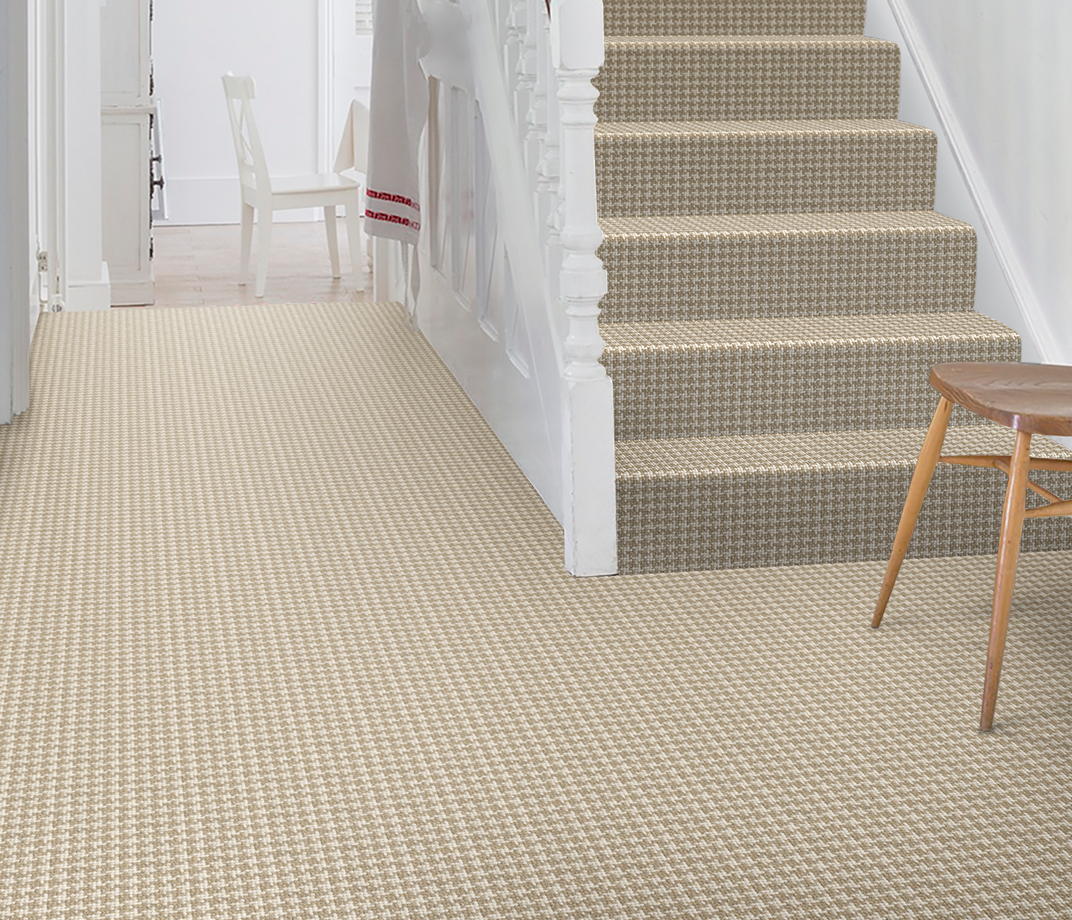 Wool Crafty Hound Harrier Carpet 5951 on Stairs thumb