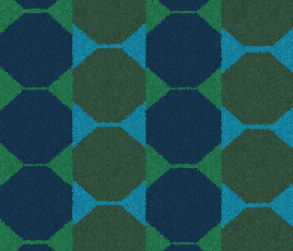 Lucienne Day Authentic Octagon Runner 7085 Swatch thumb