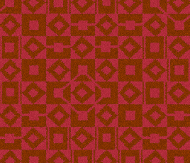 Lucienne Day Authentic Squares and Diamonds Runner 7086 Swatch thumb