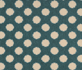 Quirky B Spotty Duck Egg Carpet 7142 Swatch thumb