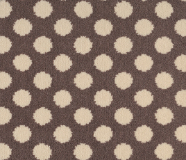 Quirky B Spotty Grey Patterned Carpet 7143 Swatch thumb