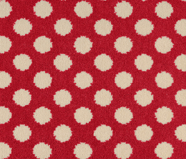 Quirky B Spotty Red Carpet 7144 Swatch thumb