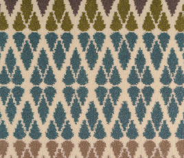 Quirky B Margo Selby Fair Isle Annie Carpet 7210 Swatch thumb