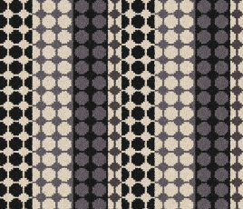 Quirky B Margo Selby Button Black Carpet 7215 Swatch thumb