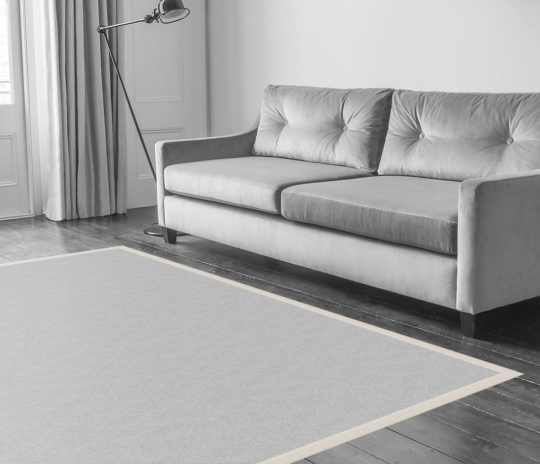 Leather Cirrus Border  in Living Room