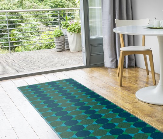 Lucienne Day Authentic Octagon Runner 7085 Runner thumb