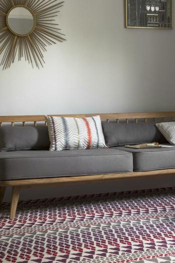 Floor Gazing Lounge - Quirky B Fair Isle Reiko by Margo Selby axminster carpet
