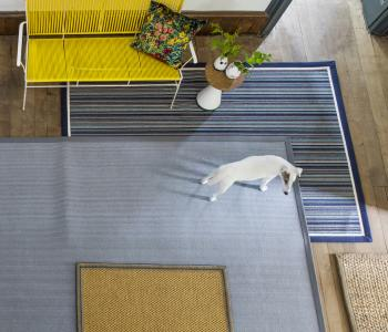 Floor Gazing Hallway - Selection of bespoke rugs and made to measure runners