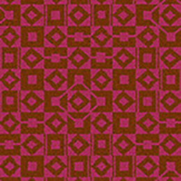 Lucienne Day Authentic Squares and Diamonds Runner 7086