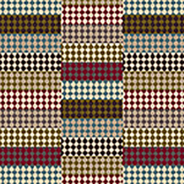 Quirky Patch Strip Red Runner by Margo Selby 7091
