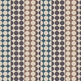 Quirky B Margo Selby Button Grey Carpet 7214