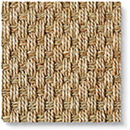 Seagrass Balmoral Basketweave Carpet 3107