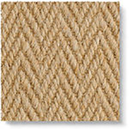 Wool Herringbone Zig Zag Natural 4677