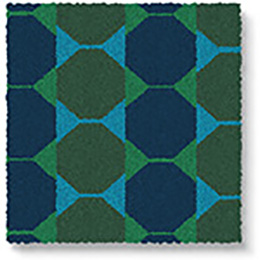 Lucienne Day Authentic Octagon Runner 7085