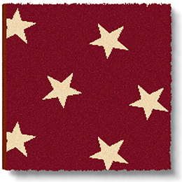 Quirky Stars Red Sky 7093