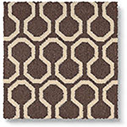 Quirky B Honeycomb Grey Carpet 7113